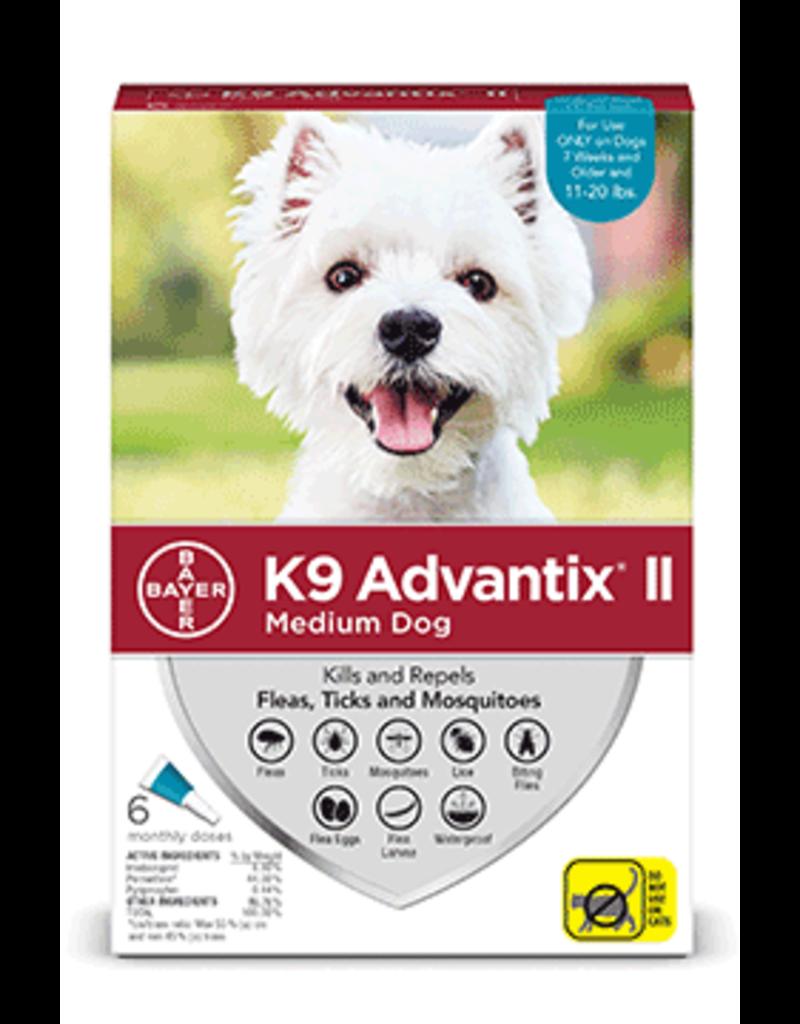 Bayer Advantix II Flea Tick Mosquito Prevention - Topical - Medium - 6pk