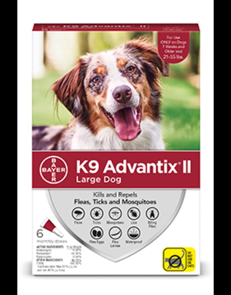 Bayer Advantix II Flea Tick & Mosquito Prevention - Topical - Large - 6pk