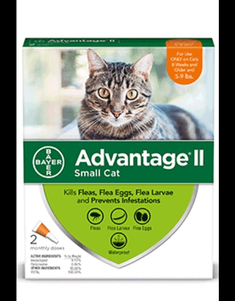 Bayer Advantage II Flea Treatment - Topical - Small Cat - 2pk