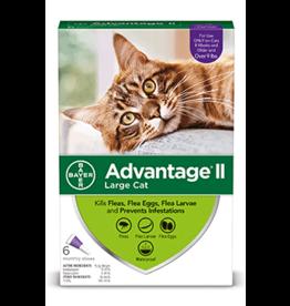 Bayer Advantage II Flea Treatment - Topical - Large Cat - 6pk
