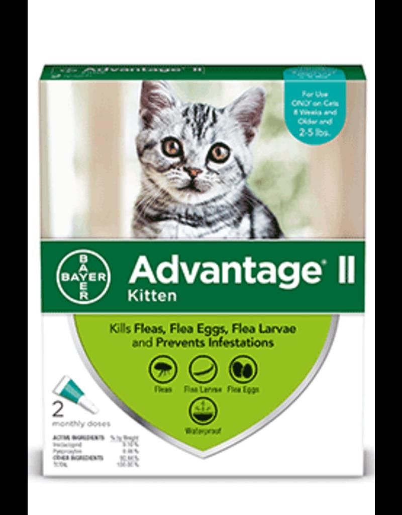 Bayer Advantage II Flea Treatment - Topical - Kitten - 4pk