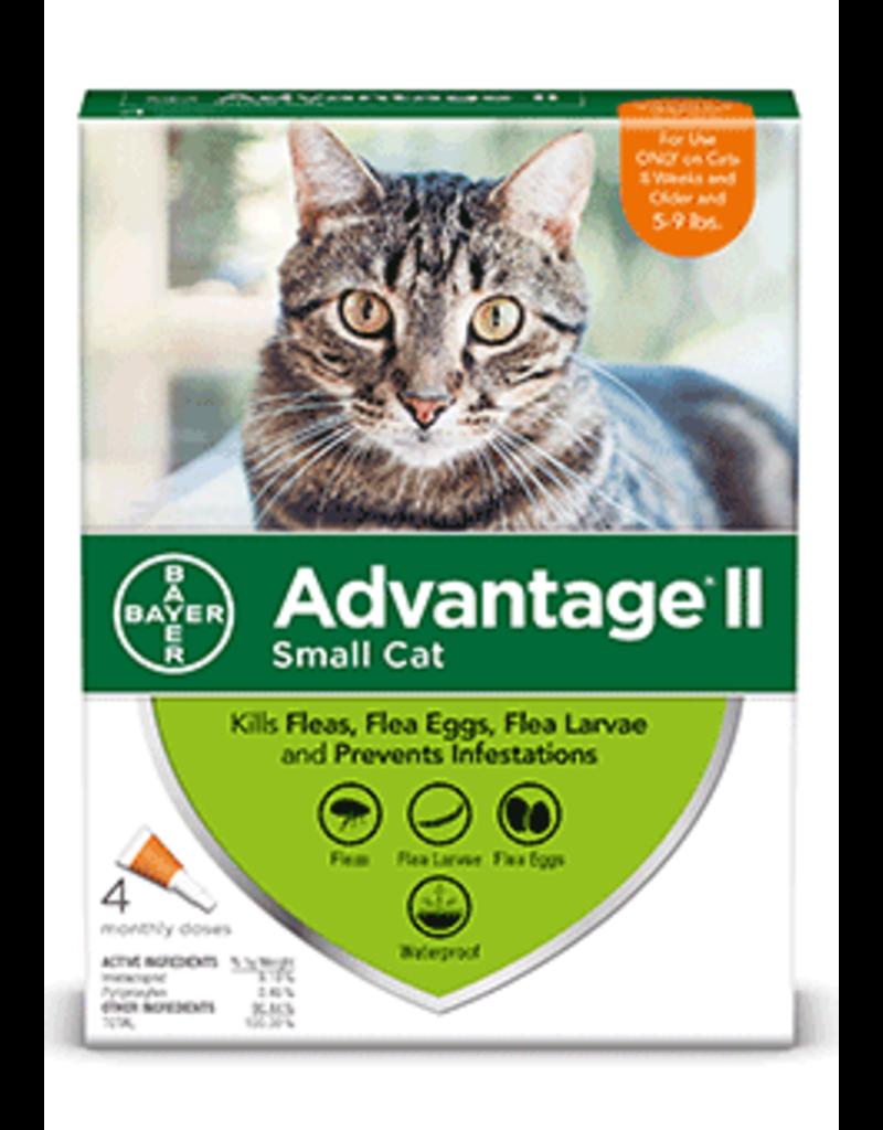 Bayer Advantage II Flea Treatment - Topical - Small Cat - 4pk