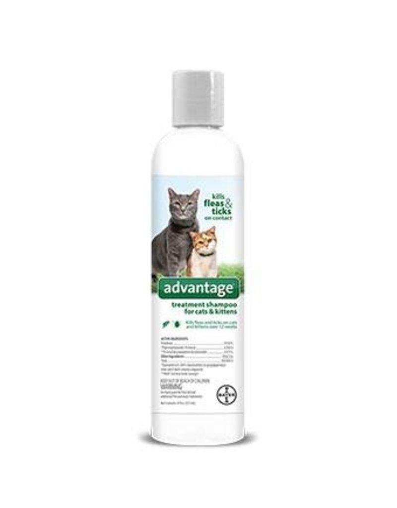 Bayer Advantage Flea & Tick Treatment Shampoo - Cat & Kitten - 8oz