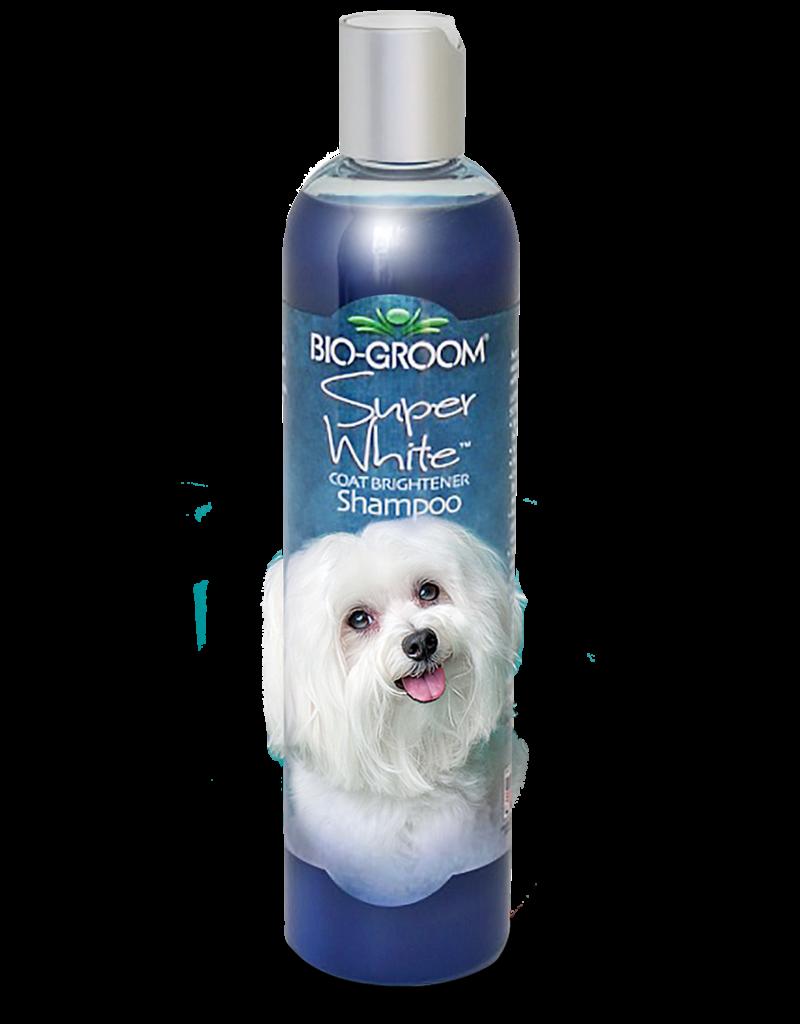 Bio Groom Super White Coat Brightener Shampoo 12oz