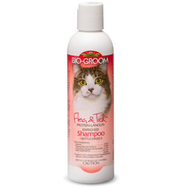 Bio Groom Flea & Tick Cat Shampoo 8oz