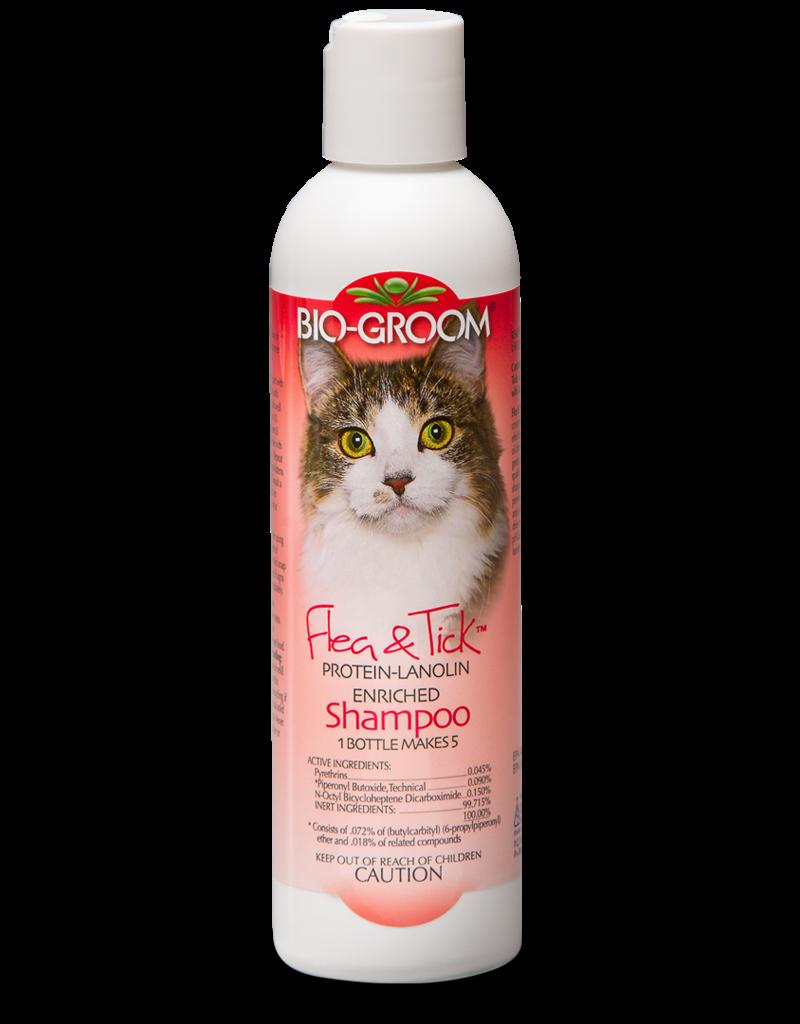 Bio Groom Flea & Tick Cat Shampoo 8oz