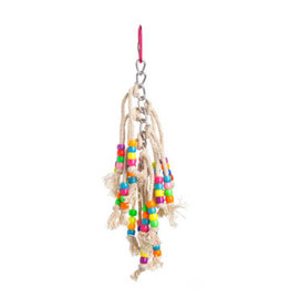 Bird Brainers String Toy with Beads 7.5in