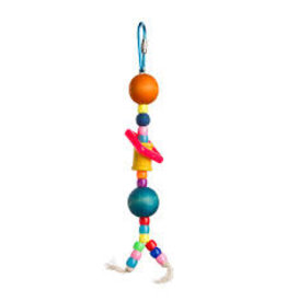 Bird Brainers Plastic & Wood Beads 7in