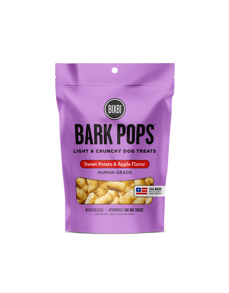 Bixbi Bark Pops Sweet Potato & Apple 4oz