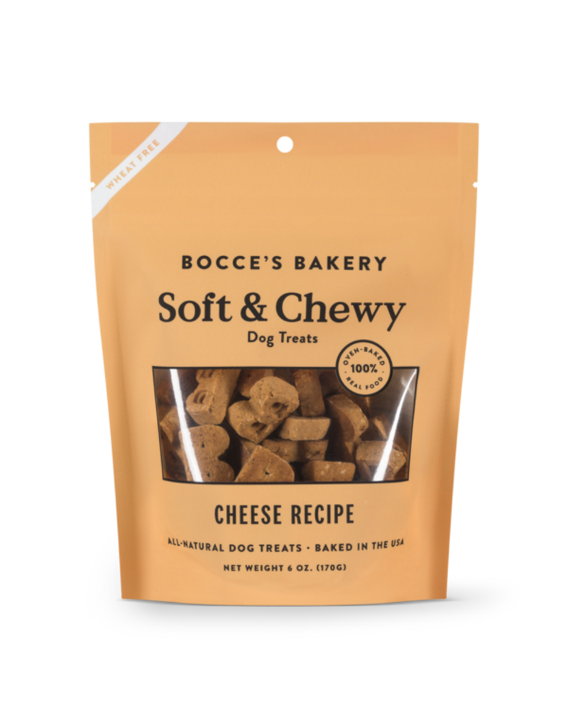 Bocce's Bakery Soft & Chewy Cheese 6oz