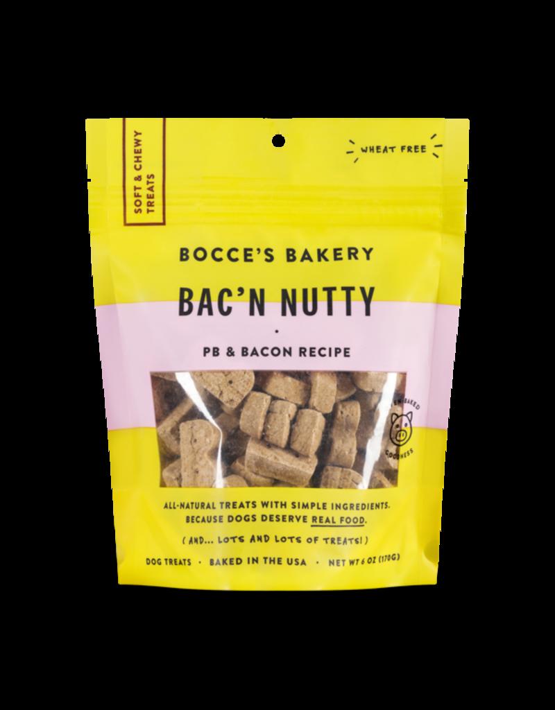 Bocce's Bakery Soft & Chewy Bac'n Nutty 6oz
