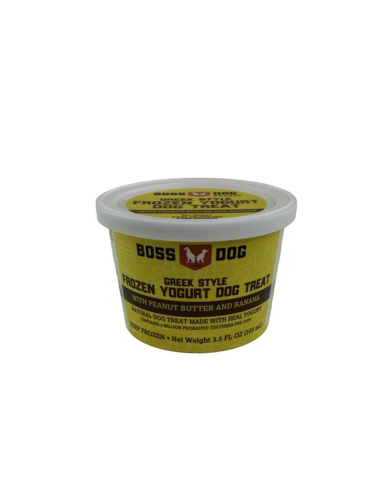 Boss dog Frozen Yogurt Peanut Butter & Banana