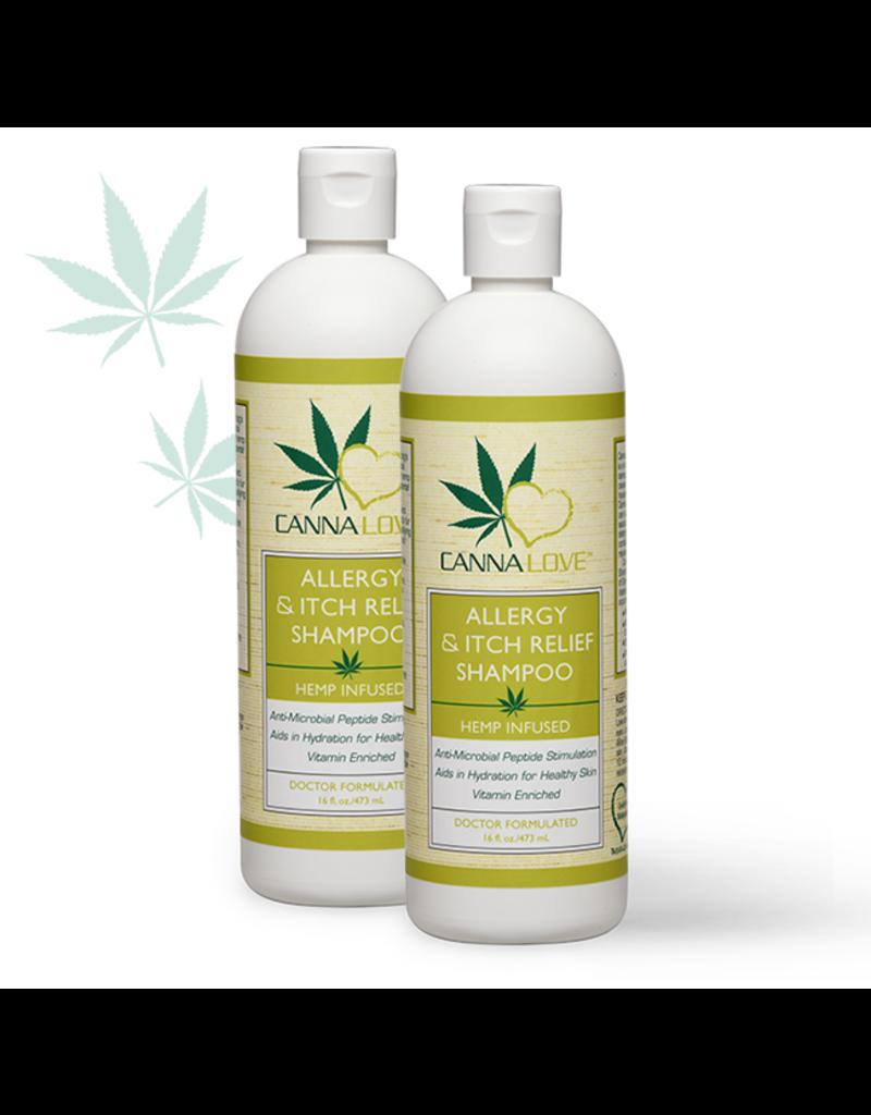 CannaLove CannaLove Allergy & Itch Relief Shampoo 16oz
