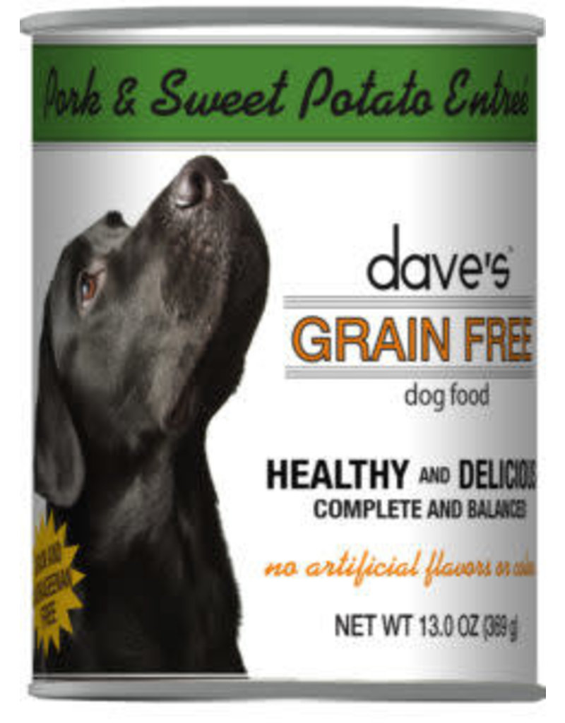 Dave's Grain Free Pork & Sweet Potato 13.2oz