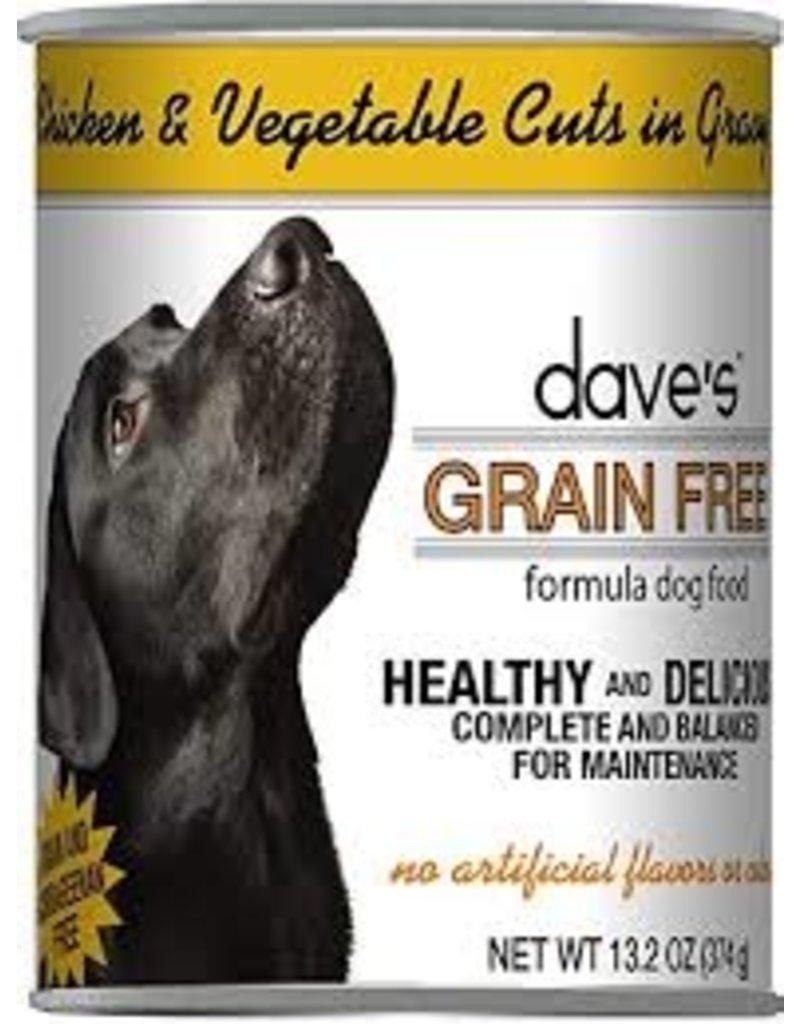 Dave's Grain Free Chicken & Vegtables 13.2oz