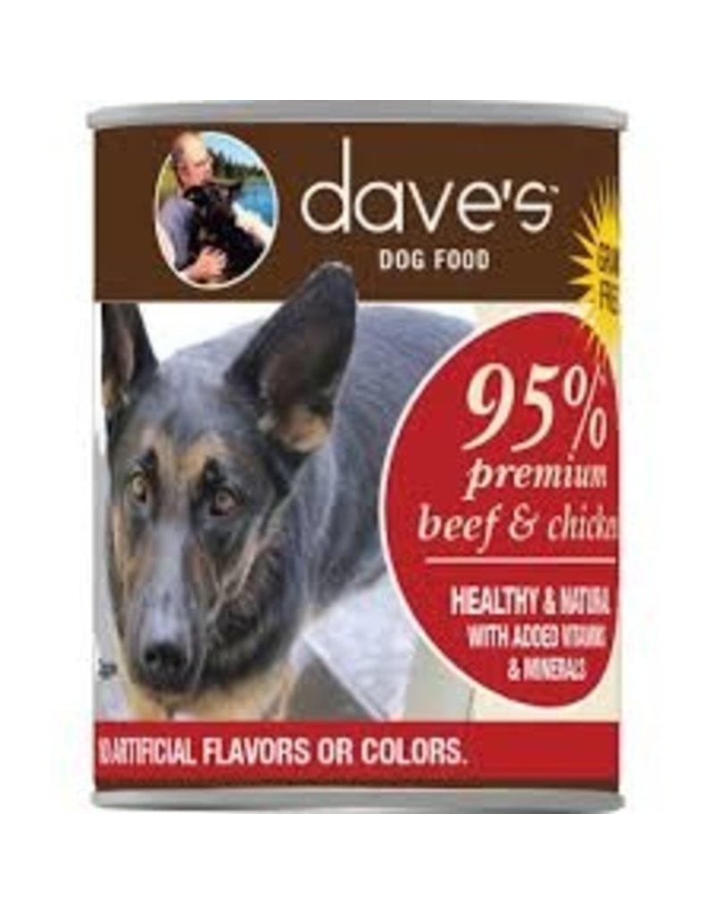 Dave's Dog 95% Beef & Chicken 13.2oz