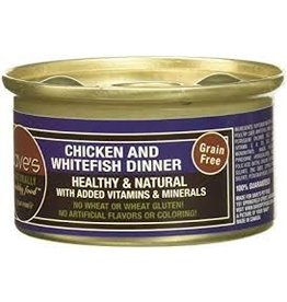 Dave's Cat Grain Free Chicken & Whitefish 3oz