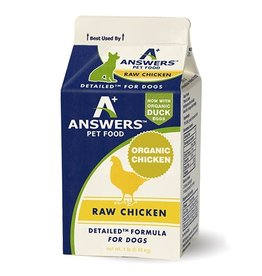 Answers Detailed Raw Chicken 1lb