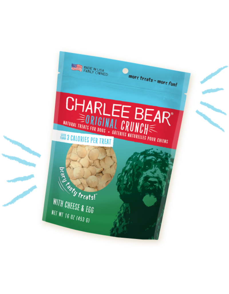 Charlee Bear Cheese & Egg Treats 16oz