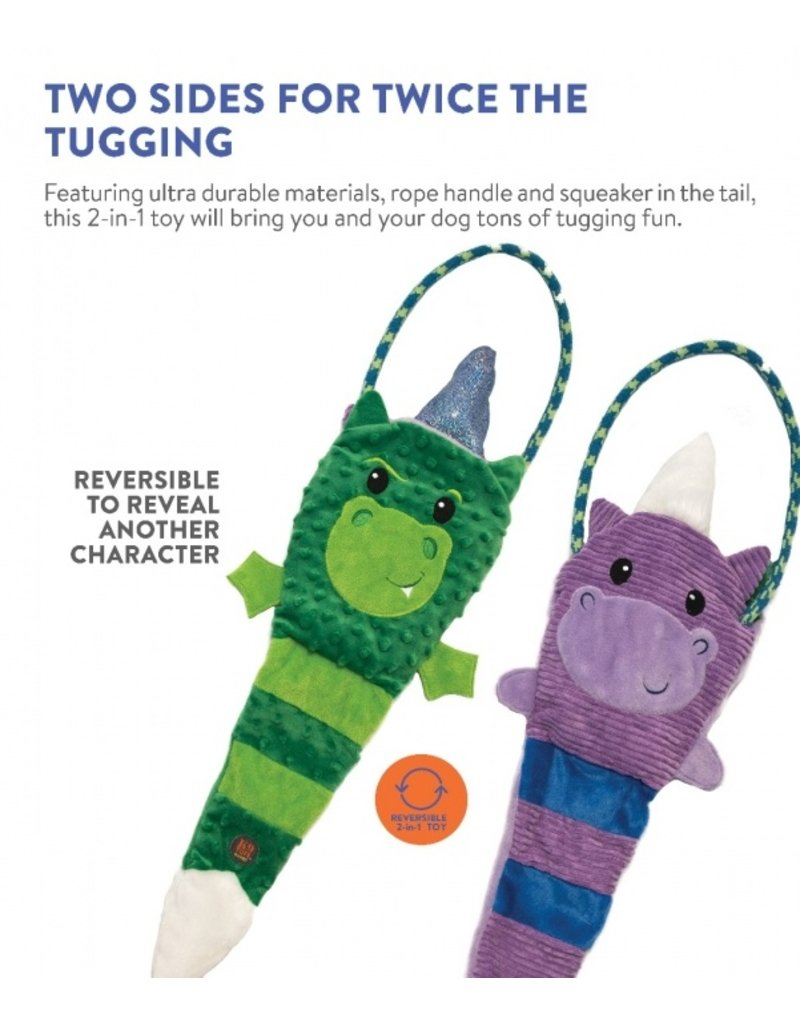 Charming Pet Tuggerz Unicorn Dragon Multi Color