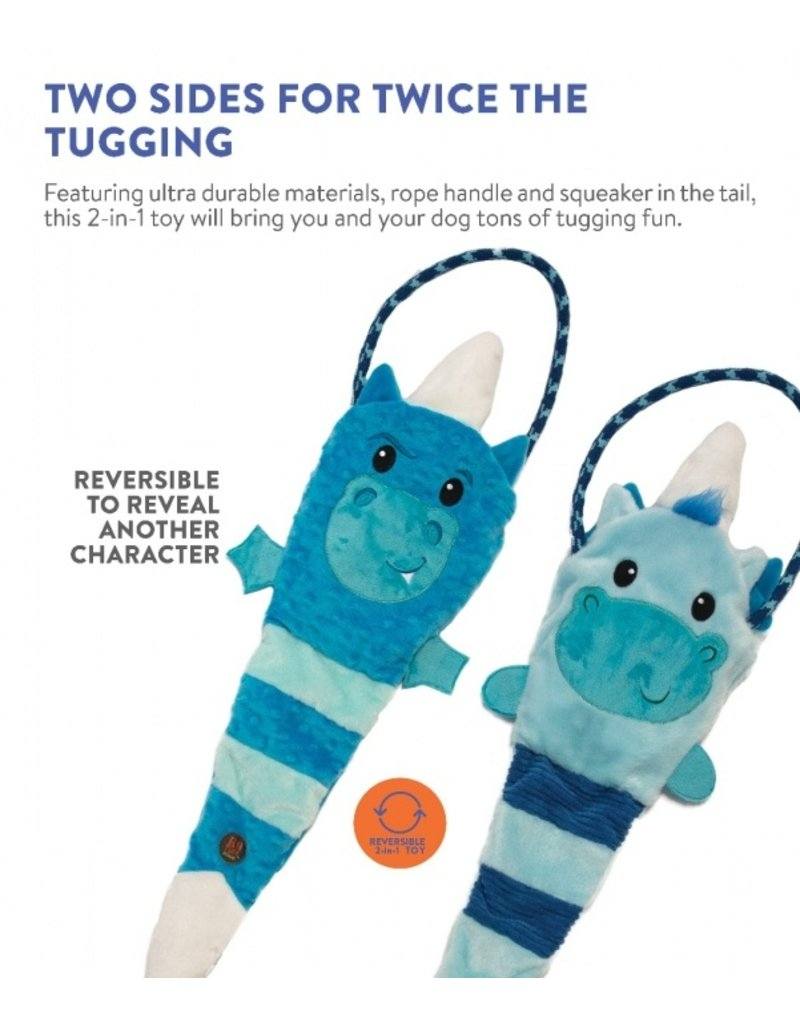 Charming Pet Tuggerz Unicorn Dragon Blue