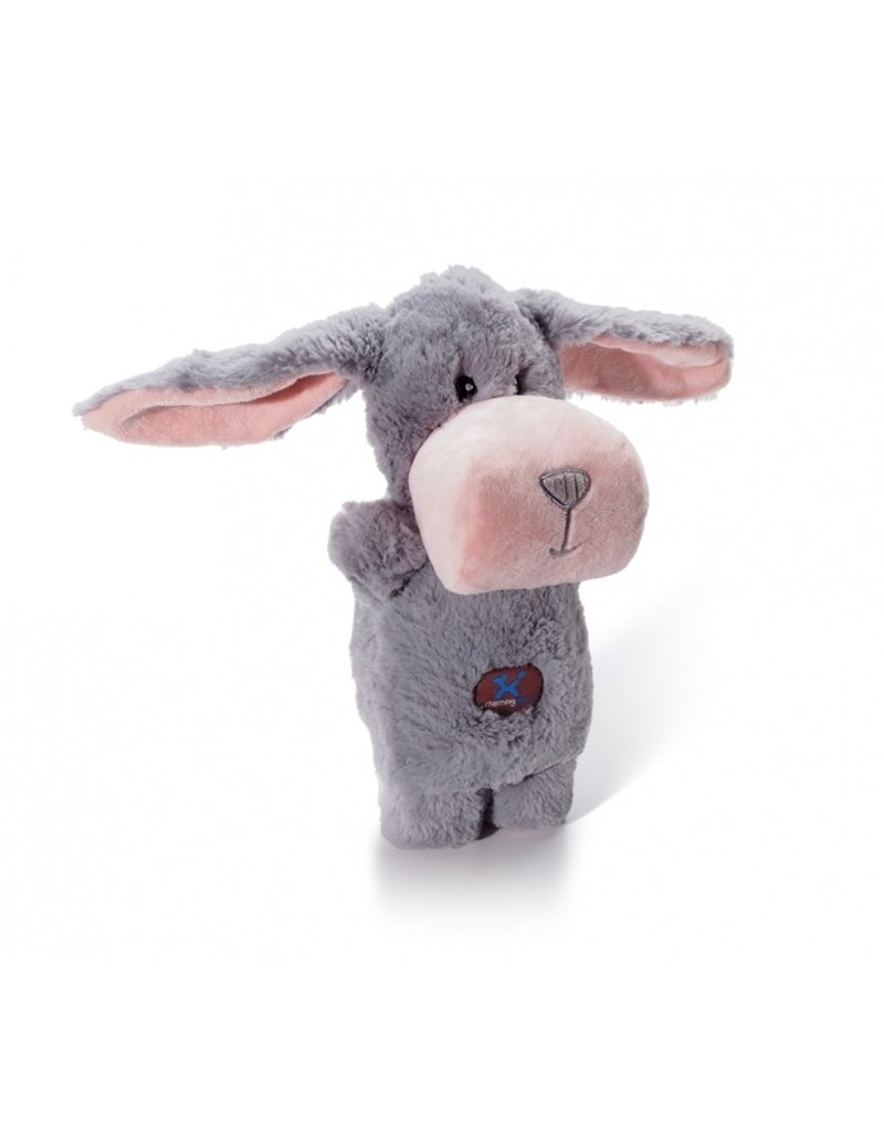 Charming Pet Puppet Squeaks Bunny