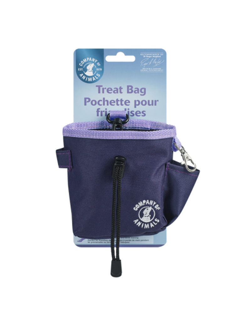 Company of Animals Clix Treat Bag Purple