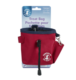 Company of Animals Clix Treat Bag Red