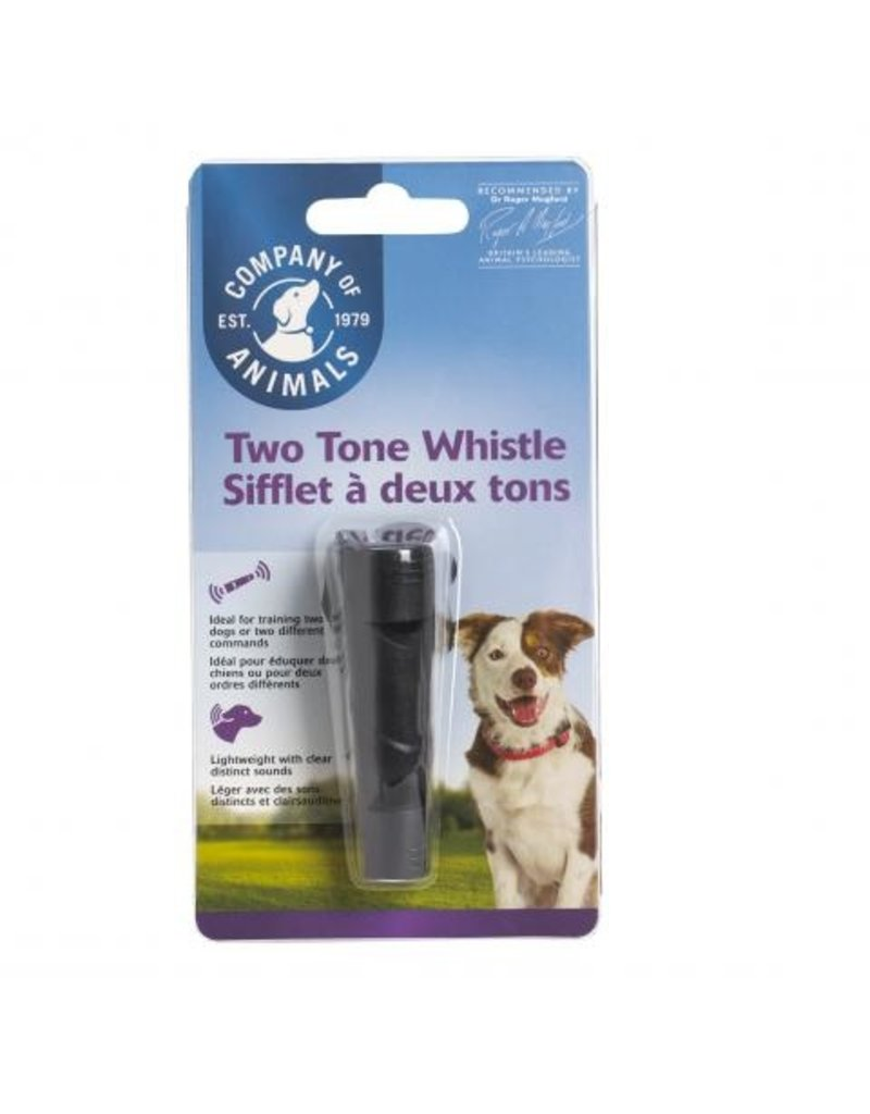 Company of Animals Clix Whistle Two Tone