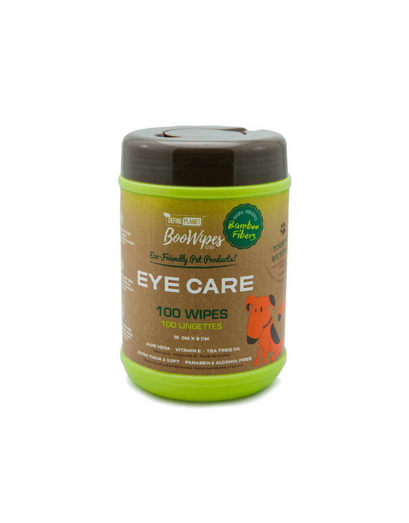Define Planet Boowipes Bamboo Eye Wipes 100ct