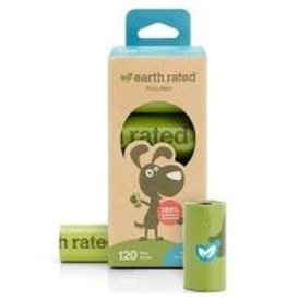 Earthrated Poop Bags Unscented 120ct