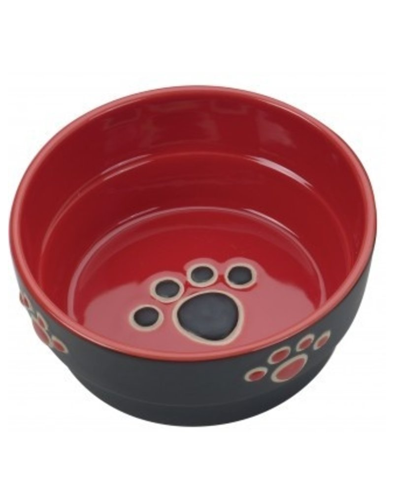 Ethical Pet Fresco Red Dog Dish 5in