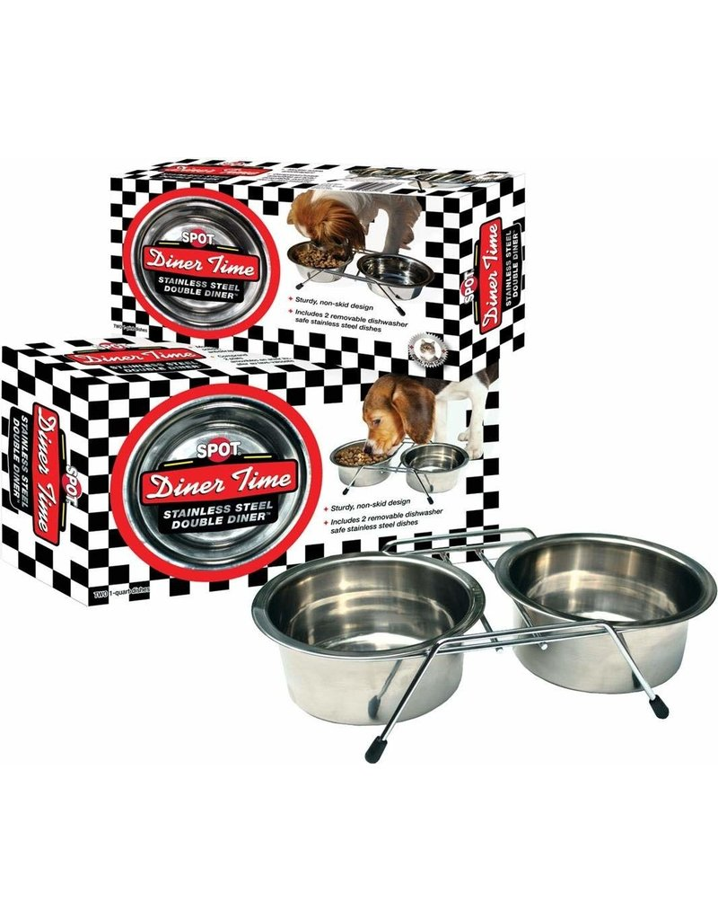 Ethical Pet Double Diner 1qt