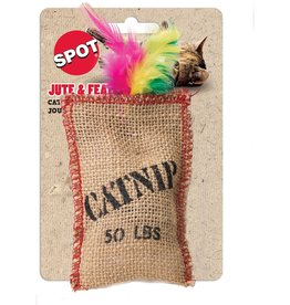 Ethical Pet Jute & Feather Sack