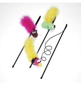 Ethical Pet - Spot Feather Boa Wand