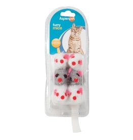 Fat Cat Catnip Mice 6pk