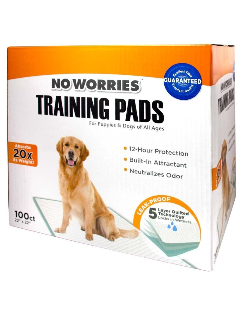 Four Paws No Worries Training Pads 100ct