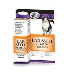 Four Paws Ear Mite Treatment .75oz