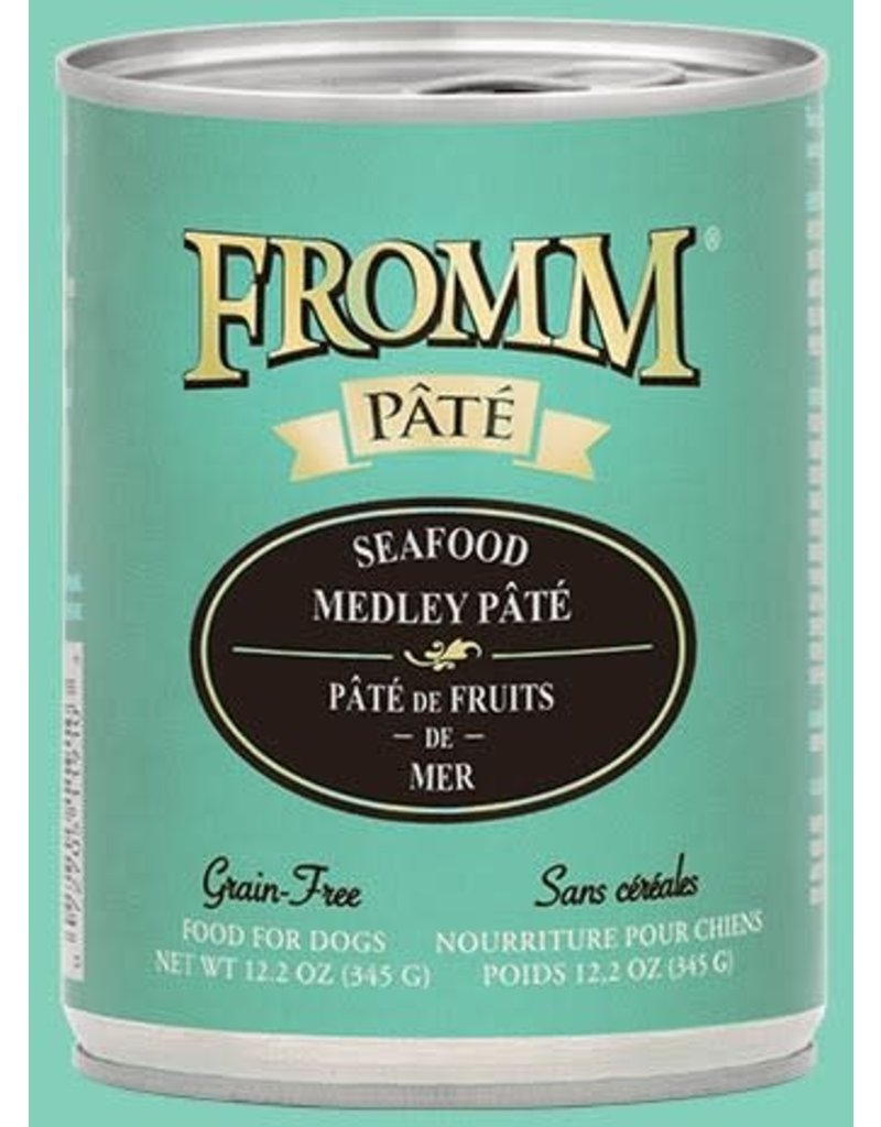 Fromm Seafood Medley Pate' 12.2oz
