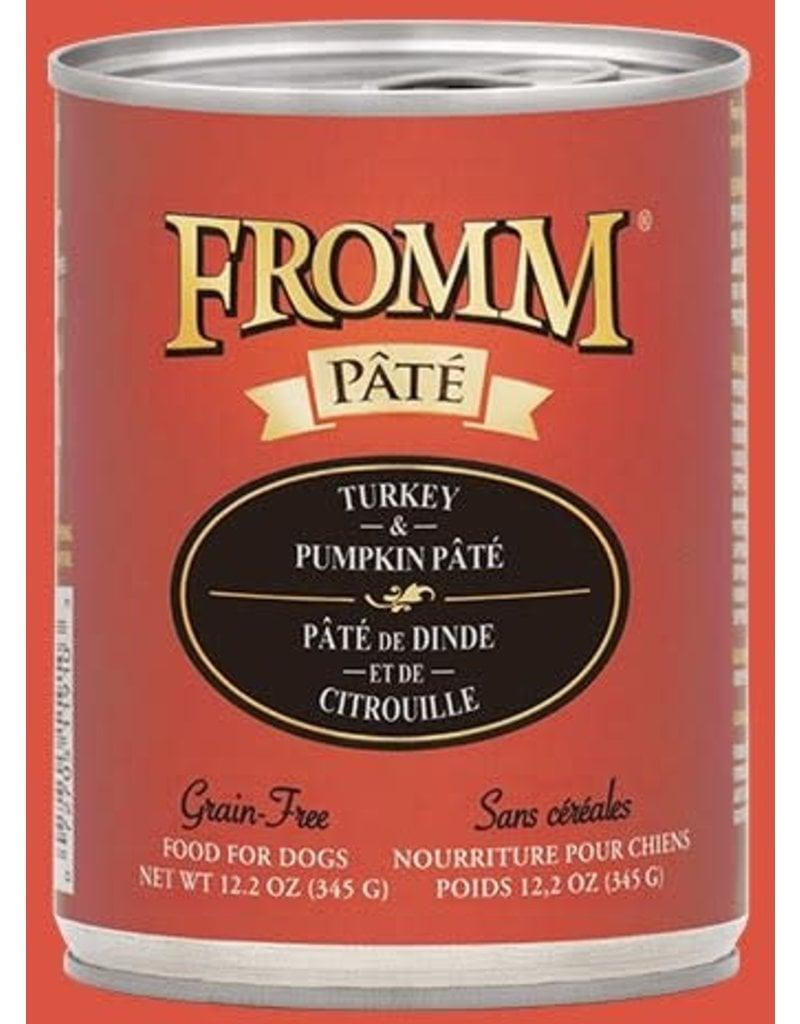 Fromm Turkey & Pumpkin Pate' 12.2oz