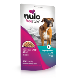 Nulo Freestyle Beef Liver & Kale in Broth 2.8oz