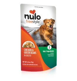 Nulo Freestyle Chicken & Green Beans in Broth 2.8oz