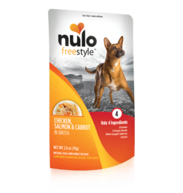 Nulo Freestyle Chicken Salmon & Carrot in Broth 2.8oz
