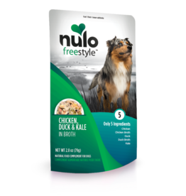 Nulo Freestyle Chicken Duck & Kale in Broth 2.8oz