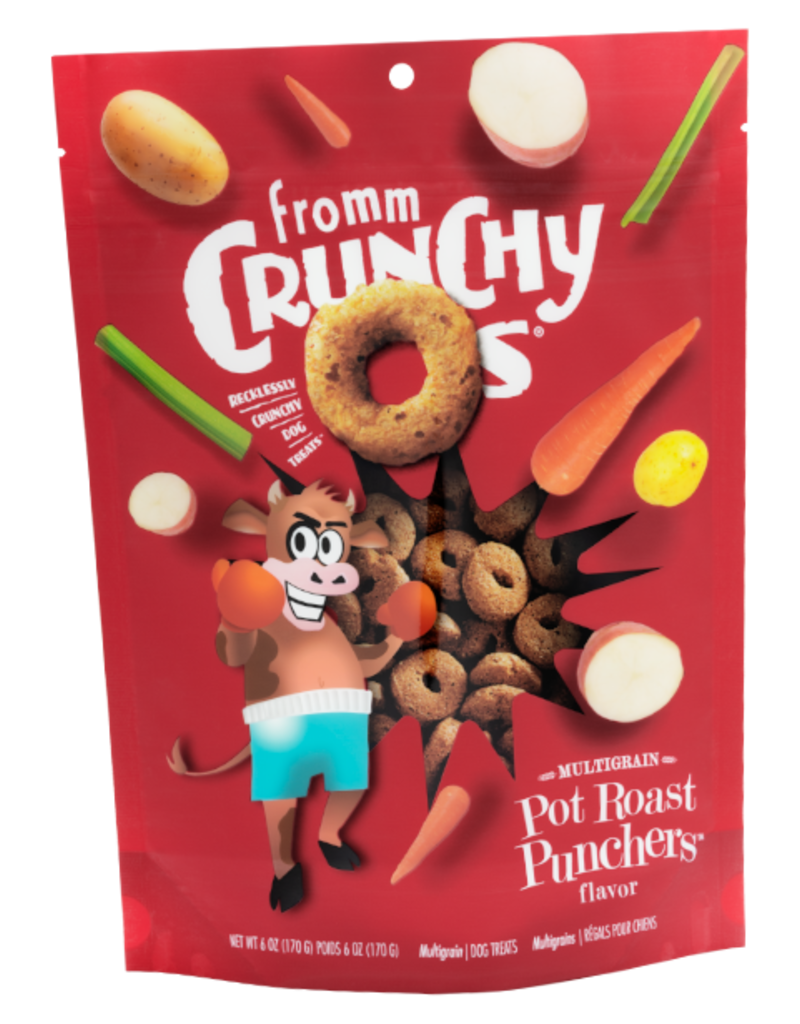 Fromm Crunchy O's Potroast Punchers 6oz
