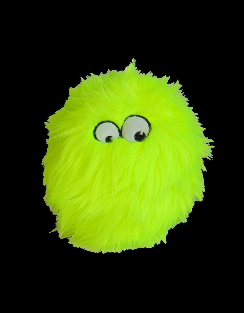 GoDog Furballz Lime Small