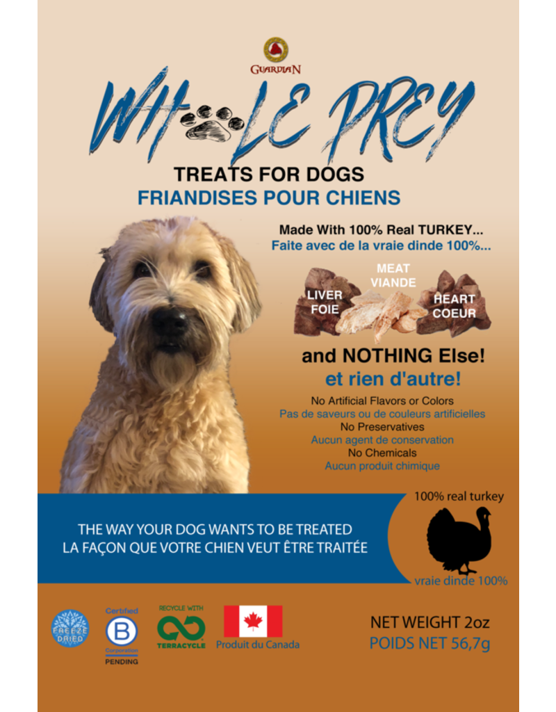 Guardian Pet Food Whole Prey Turkey