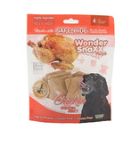 WonderSnaxx Chicken Jerky Pockets Large 4ct