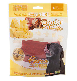 WonderSnaxx Bacon & Cheese Pockets Large 4ct