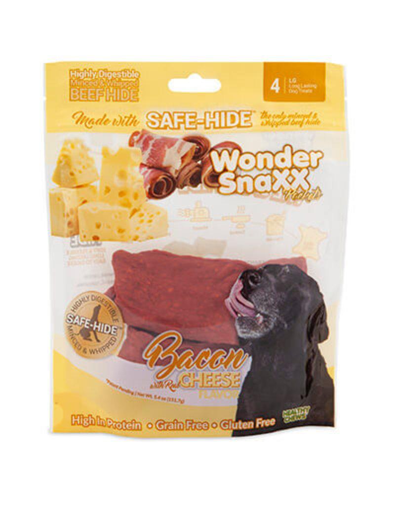 WonderSnaxx Bacon & Cheese Pockets Large 4ct
